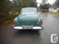 Make Chrysler Model Windsor Year 1950 Colour green kms