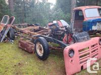 Make Dodge Trans Manual 1950 Fargo ½ ton truck project