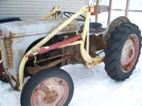 Year 1950 Ferguson tractor for sale for restoration.