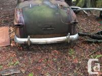 Make Ford 1950 Ford project. Has meteor grill. No motor
