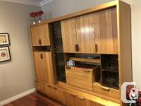 If you know your furniture this all wood Display