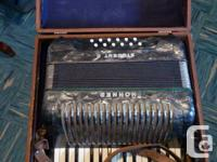 Antique Hohner Student II accordion, purchase it, play