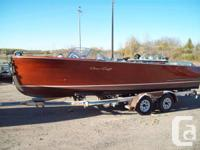 1951 22FT Chris Craft Sportsman with a 200HP Inboard
