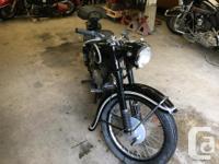Make BMW Year 1951 1951 R25 BMW. 247CC 12 HP Single