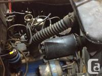 1951 Ford Prefect 1.17 litre motor runs good. Needs