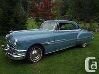 1952 Pontiac Super Deluxe Catalina Very nice shape Flat