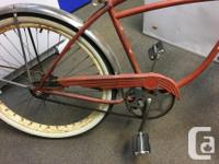 Original paint Balloon tires (new, not old and worn