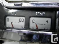 1954 53 Plymouth Dodge Mopar Cluster Gauges Dash