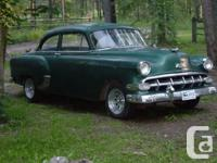 Make Chevrolet Model Bel Air Year 1954 Trans Manual