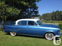 Make Dodge Year 1954 Colour blue/white kms 193000 1954