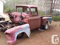 Make Chevrolet Model C/K 1500 Year 1955 Colour red kms