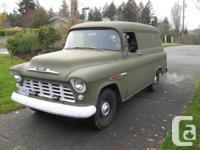 Looking for 1955 1956 or 1957 Chevy or GMC Panel Truck