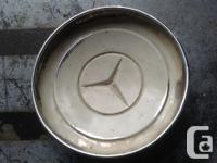 """1955-1967 Mercedes Benz Wheelcover 9 5/8""""Wide Other"""