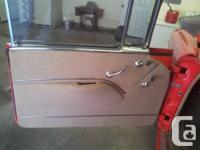 I have for sale my 1955 Chevrolet 2 door hardtop that I