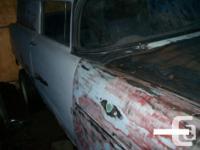 Make Chevrolet Year 1955 Colour white Trans Manual 1955
