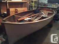 Antique sailboat, complete has all parts including