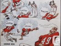 1957 Vintage CFL Program (Gridiron News) No. 51786