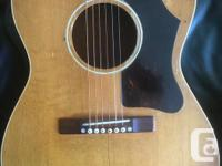 Price reduced. Vintage 1958 Gibson LG-1 natural finish.