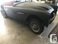 whole Healey 106 3000.. everything there.. engine turns