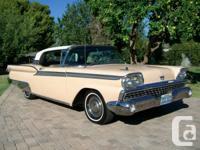 59,511 Original Miles  This beautiful 1959 Ford