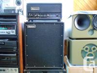 1960's Univox model: D90-2 all tube guitar amplifier