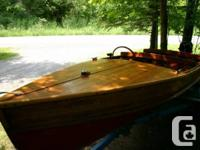 Traditional 15' Peterborough Cedar Strip boat dating