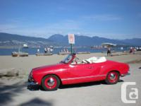 Make Volkswagen Model Karmann-Ghia Year 1960 Colour for sale  British Columbia