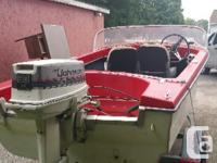 hi I have a 1960 starcraft boat for sale , very good
