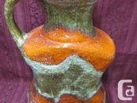 West German studio pottery is extremely collectible