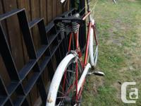 1960'S RALEIGH 3 SPEED BICYCLE IN ORIGINAL CONDITION IN