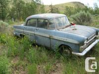 1961 GMC Envoy 4 door sedan, for parts or restoration