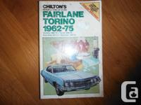Chilton's Repair and Tune-Up Guide Fairlane and Torino,