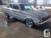 1962 Ford Falcon Futura 2 door post. 100% restored.