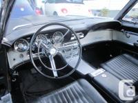 Make Ford Model Thunderbird Year 1962 Colour Black