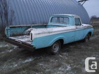 Make Ford Version F-Series Year 1963 Colour blue kms