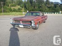 Recently imported 1963 Pontiac Catalina running and