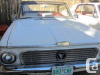 Make Plymouth Model Valiant Year 1963 Colour White