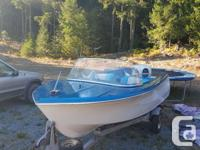 Great hull and intererioir, nicely maintained. Engine