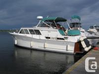 1964 38 foot Pacemaker Tri cabin motor yacht (wood for sale  Ontario
