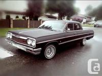 1964 Impala . CUSTOM lowrider NICE CLEAN CAR It's a for sale  British Columbia
