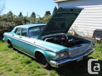 Make Chrysler Year 1964 Colour Turquoise (Blue-Green)