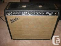 VINTAGE 1964 VIBROVERB (NOT A REISSUE)  ALL