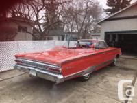 Make Mercury Model Park Lane Year 1964 Colour Red kms