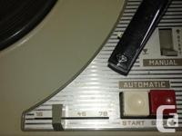 Hi this record player is in fine working condition
