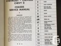 The original 1965 Chevrolet/Chevelle/Chevy II Chassis