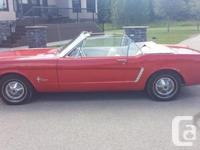 1965 Convertible Ford Horse - 200 CDI Inline 6