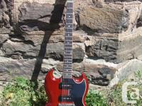 1965 GIBSON SG SPECIAL (killer player) replaced the