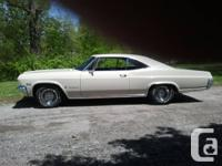 1965 Impala factory 396 Big Block 19900 actual miles,