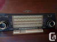 1965 MELOTONE C-1 CONSOL STEREO & CABINET WAS BOUGHT