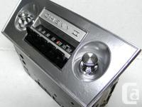 1967 1966 Chevrolet Chevy II SS Deluxe AM Delco Radio
